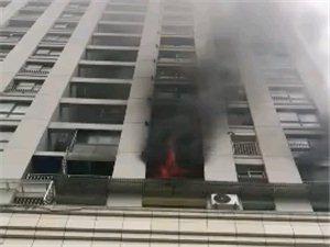 南城5号楼发生火灾