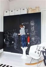 你知道超有趣味的黑板墙是如何打造的吗?