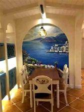 小户型特别适合的----地中海,累了一天回到家蓝白的色调有没有能更好的消除疲劳呢?你的新家可以参考下