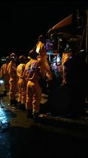 今凌晨省道305黄土过来四公里处发生一起车祸