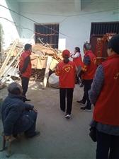 雷锋月里春意浓志愿者服务暖人心——涡阳县
