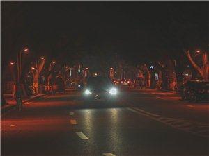 夜晚的隆昌一角