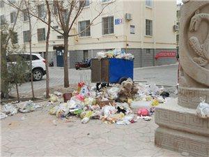 南苑�A庭小�^物�I不清理垃圾,大院生活垃圾堆�e如山,�@�拥奈�I有�P部�T�管管吧