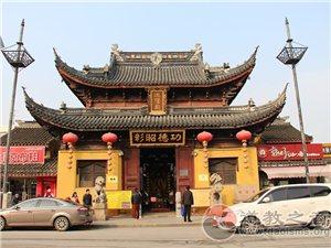 江苏省苏州城隍庙:城隍爷春申君黄歇。