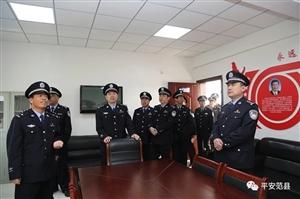 范县公安局召开党建工作现场会暨清明节前英烈纪念宣传活动