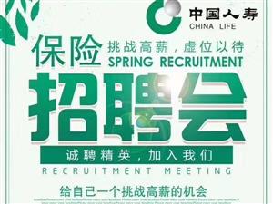 央企!中国人寿保险公司招聘啦!