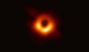 人类历史上首张黑洞照片公布,你看它像啥?