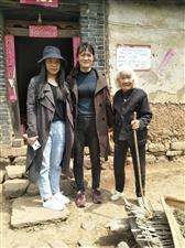 公益活动,鲁山走访孤寡老人。