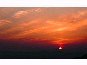 夕阳无限好,只是近黄昏。