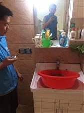 水管清洗前后�Ρ�