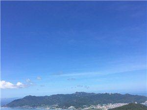 登大尖山观海