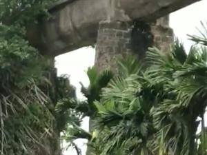 琼海市嘉积镇华国村《文革时期建设的水利渡槽》是否己列入文物保护2019年4月17日(农历