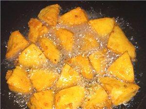 揭西特色小吃―薯粉豆角