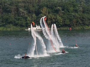 武胜第二届青年运动会皮划艇赛回顾