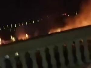 从琼海市万泉河广场附近突起大火联想到的2019年4月25日晚上7点30