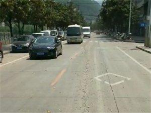 镇巴县城,昨天从污水处理厂到泾洋桥的路是这样的。