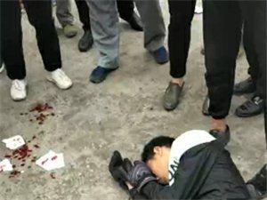 突发!麻江广建中断车祸。