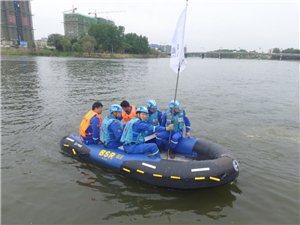 2019年临泉蓝天救援队抗洪演练