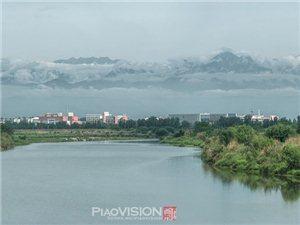 【�h��X】立夏的大美�V�h~湔江�L光,久�`了的雪山(�D片)