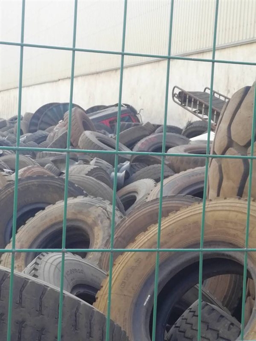 回收霍邱周邊廢舊鋼絲胎