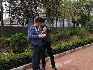 张家川在线受县职中邀请航拍我县职业教育发展变化