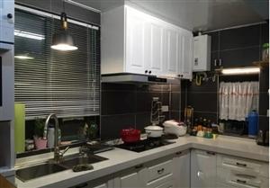 小户型开放式厨房,家具的位置要合理