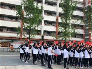 麻江二中师生千人大合唱(我爱你中国)