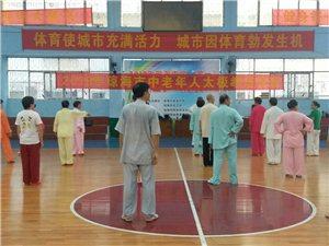 琼海市举办2019年中老年人太极拳培�班