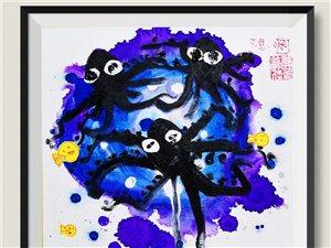 可可美术文化5月18日儿童美术作品欣赏