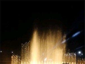大寻乌的音乐喷泉,挺不错的
