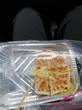 吃的一次最揪心的的榴莲芝士饼………