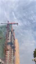 《宏博.梓江锦城》5号楼封顶大吉