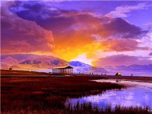 见过美丽的赛里木湖吗