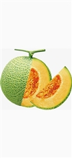 哈密瓜,以新疆哈密所产最为著名,而得名。因其鲜脆多汁、肉厚细腻、清香爽口而博得人们喜爱。含维生素B1