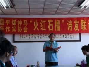 仅以此诗献给老年作协、三苏诗社第十一届《火红石榴诗友联谊会》沁园春.榴之梦