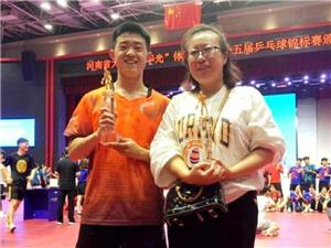 黄淮学院吴迪夺得河南省大学生第十五届乒乓球锦标赛男乙单打冠军