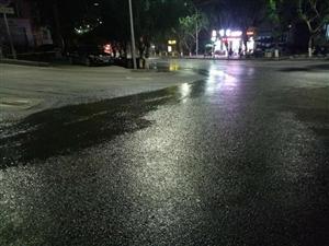 忠县大桥路岔路口化粪池堵塞