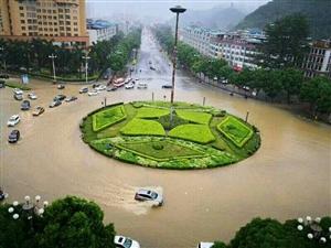 一夜暴雨之后,亚游集团城多地积水严重,果友说亚游开启看海模式!