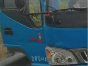 货车拉着收割机高速上占用应急车道民警:打电话、下车方便、拿尿布都不属于应急情况