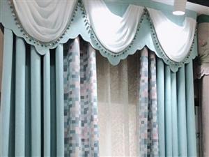 窗帘布艺新店开业优惠多多、圣迹西路364