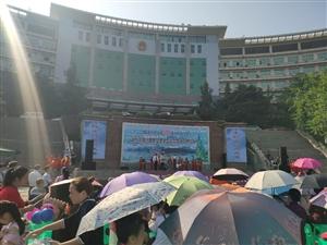 丰都诗人节在宏声文化广场举行,好热呀