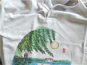 阜城湖T恤衫手绘设计常运起艺术工作室2019.63