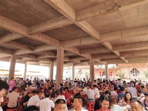 杨村千人宴,来年有想来的可以和小二一起结队哟!