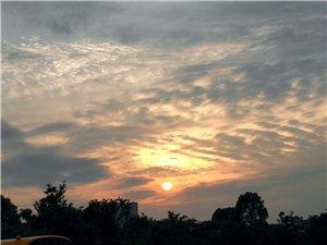 想带你去看晴空万里咱大鄱阳的天
