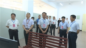 潢川县高考有序进行社会各界爱心助考市县领导深入考点巡视指导