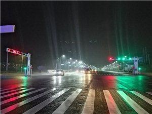 雨中小夜景