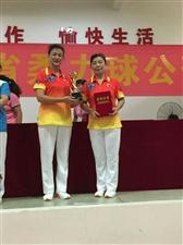 2019年海南省柔力球公开赛我市荣获第3名次
