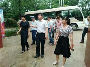 刘秀华、杨斌县长来我院督导消防安全检查及安全隐患排查工作
