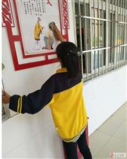 让我们的家园更美好:金沙平台网址县天洁小学开展丰富多彩的创卫活动
