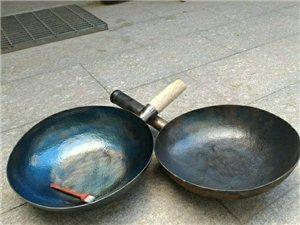 精品手工锻打不粘锅炒锅